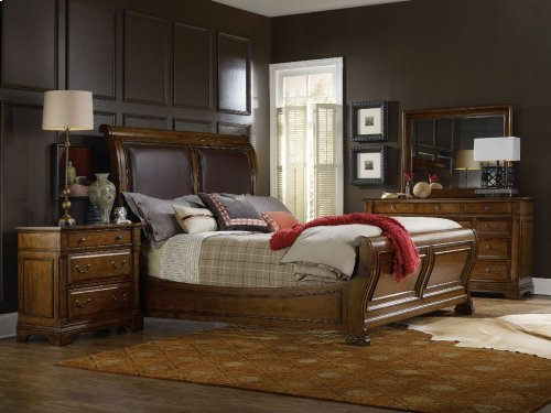 Tynecastle California King Sleigh Bed