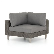 Charcoal Cover Remi Outdoor Sectional-corner Piece