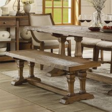 Hawthorne - Dining Bench - Barnwood Finish