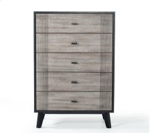 Nova Domus Panther Contemporary Grey & Black Chest