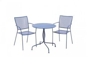 Martini Iron Stackable Bistro Chair