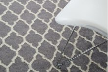 Linie Design Adelyn Grey Wool Rug
