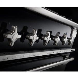 """AGAGloss Black 36"""" AGA Elise Dual Fuel Range"""