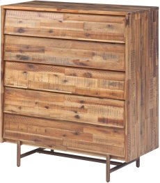 Bushwick Wooden 5 Drawer Chest Product Image