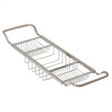 Essentials Contemporary Adjustable Bathtub Rack
