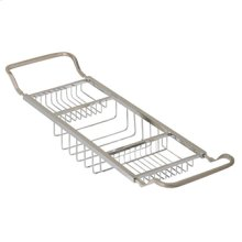 Essentials Contemporary Adjustable Bathtub Rack