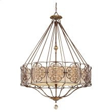 4 - Light Uplight Chandelier