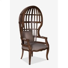 Grand Porter Arm Chair With Exposed Wood Frame (26X24X26)