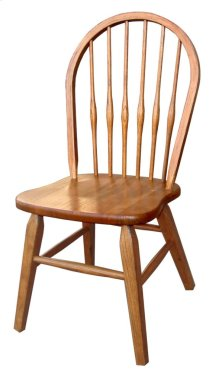 Side Chair, Std. Ht. Bow Back, Sq. Tapered Leg