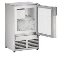 """14"""" Marine Crescent Ice Maker Stainless Solid Field Reversible (No Flange)"""
