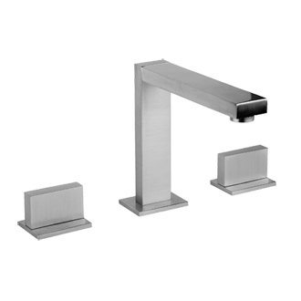 Three hole washbasin mixer - Spout height 4-1/16 and projection 5-5/8