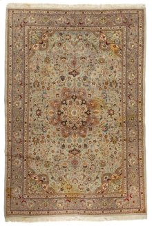 Persian Classics Hand Knotted Medium Rectangle Rug