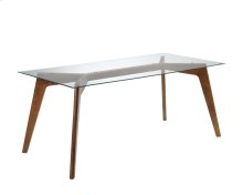 Blaze Dining Table - Brown