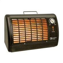 CZ330 Radiant Electric Wire Element Shop Heater, Black
