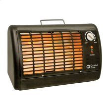 CZ330 Radiant Electric Wire Element Shop Heater, Black