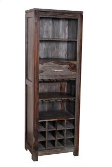 1 Drw Wine Bookcase