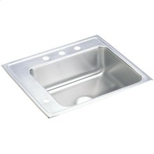 "Elkay Lustertone Classic Stainless Steel 25"" x 22"" x 6"", Single Bowl Drop-in Classroom ADA Sink"