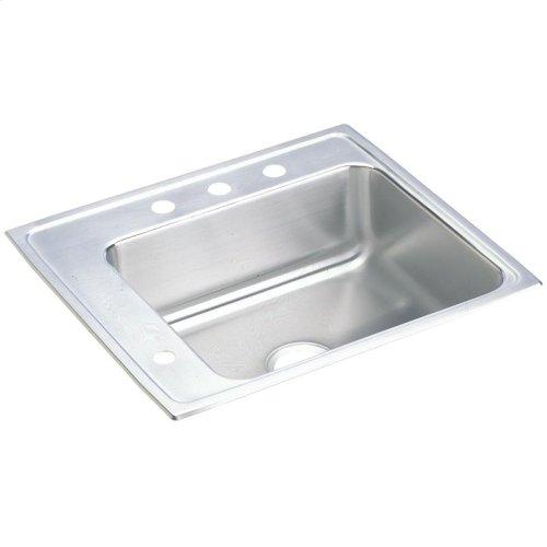 "Elkay Lustertone Classic Stainless Steel 25"" x 22"" x 5-1/2"", Single Bowl Drop-in Classroom ADA Sink"