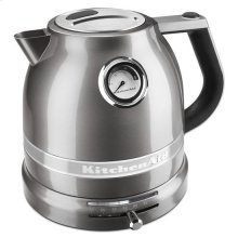 KitchenAid® 1.5 L Pro Line® Series Electric Kettle - Medallion Silver