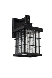 LED OUTDOOR WALL, 3000K, 120°, CRI80, ETL, 7.5W, 37.5W EQUIVALENT, 50000HRS, LM600, 5 YEARS WARRANTY, INPUT VOLTAGE 120V, BLACK