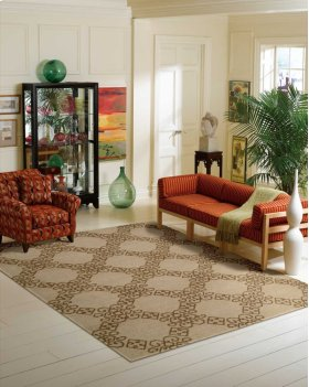 AMBROSE AMB01 ALMOND RECTANGLE RUG 7'9'' x 9'9''
