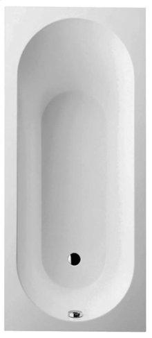 Bathtub Rectangular - white (alpin)