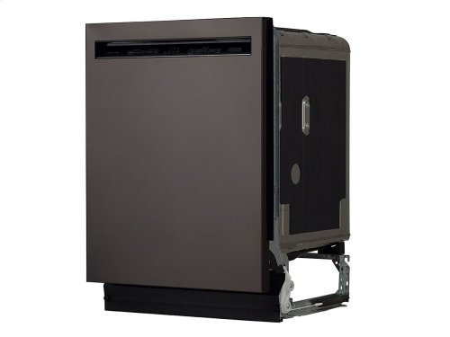 46 DBA Dishwasher with ProWash Cycle and PrintShield Finish, Front Control - Black Stainless