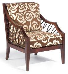 Living Room Ellis Exposed Wood Chair 4254