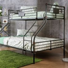 Olga I Twin/queen Bunk Bed