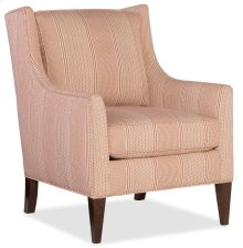 Domestic Living Room Hand Over Heart Club Chair