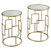 King Priam Round Accent Tables