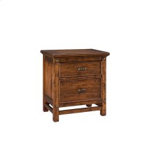 Bedroom - Wolf Creek Two Drawer Nightstand