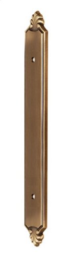 """Polished Brass Backplate for 3 1/2"""" Pull Product Image"""