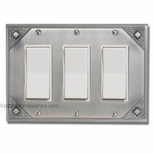 Craftsman Triple Rocker Switch Plate