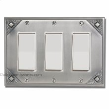 Craftsman Triple Rocker Switch Plate
