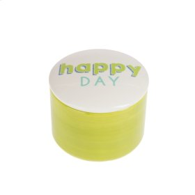 """Happy Day"" Round Treasure Box"