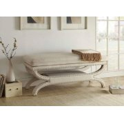 Light Grey Accent Bench Product Image