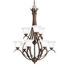 Dover Collection Dover 9 Light Chandelier - Tannery Bronze
