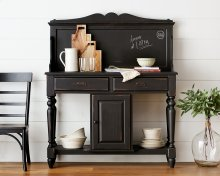 Elyse Sideboard Hutch & Base