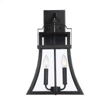 "Avon 2 Light 19"" Exterior Wall Lantern"
