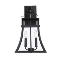 "Avon 2 Light 19"" Exterior Wall Lantern"