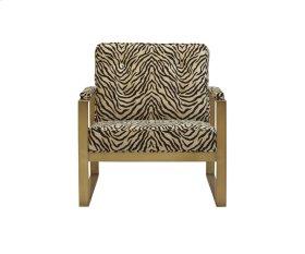 Malone Brass Metal Chair