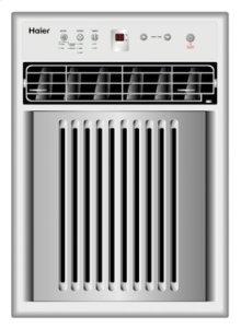 8,000 BTU, 9.5 EER - 115 volt Casement/Slider Air Conditioner