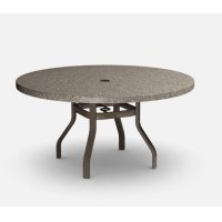 "54"" Round Dining Table (with Hole) Universal 37XX Base Product Image"