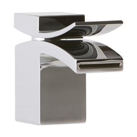 Lav Faucet, Front Flow - Chrome