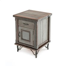 Hill Country 1 Door 1 Drawer Night Stand Hinged Right