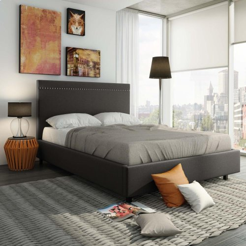 Gastown Upholstered Bed - King
