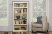 Tuscan Retreat® Medium Bookcase - K/d - Ctn A - Solid Country White