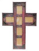 4x6 Red Cross Picture Frame Product Image