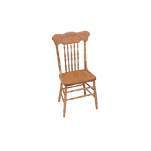 Dutch Rose Chair With Arms